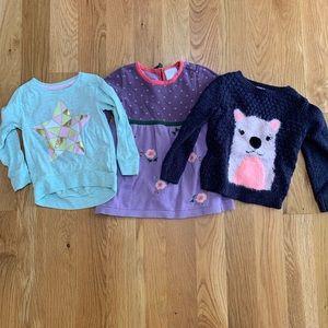Hannah Anderson Dress, Shirt, Sweater Lot